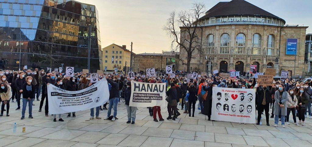 Hanaukundgebung Freiburg, Foto: privat